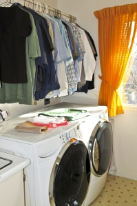 Keep your laundry room organized