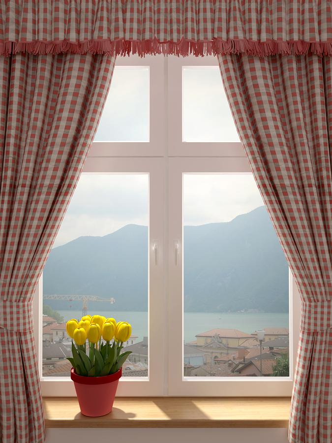 Window With Curtains – Curtain Idea Arina